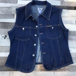 Calvin Klein Jeans vest Sz L